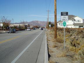 Bicycle Lane on Silver Sage